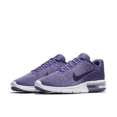 Nike Women's Air Max Sequent 2 Running Shoe Purple Earth/Dark Raisin Size 8 M US