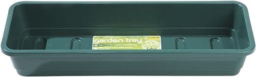 Estrecho jardín bandeja verde: Amazon.es: Jardín