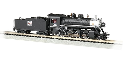 Baldwin 2-8-0 DCC Sound Value Econami Equipped Locomotive - Western Pacific #35 - N Scale