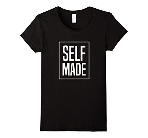 Women's Self Made Hustle T-Shirt: Business Entrepreneur M...