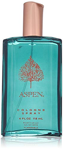 - Aspen by Coty 4.0 oz 118 ml for Men Eau De Cologne