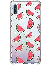 Oihxse Transparente Silicona Funda Compatible con Samsung Galaxy S8 Carcasa Ultra-Delgado Suave TPU Gel Airbag Esquinas Anti Rasguños Lindo Protector Case Bumper(A2)