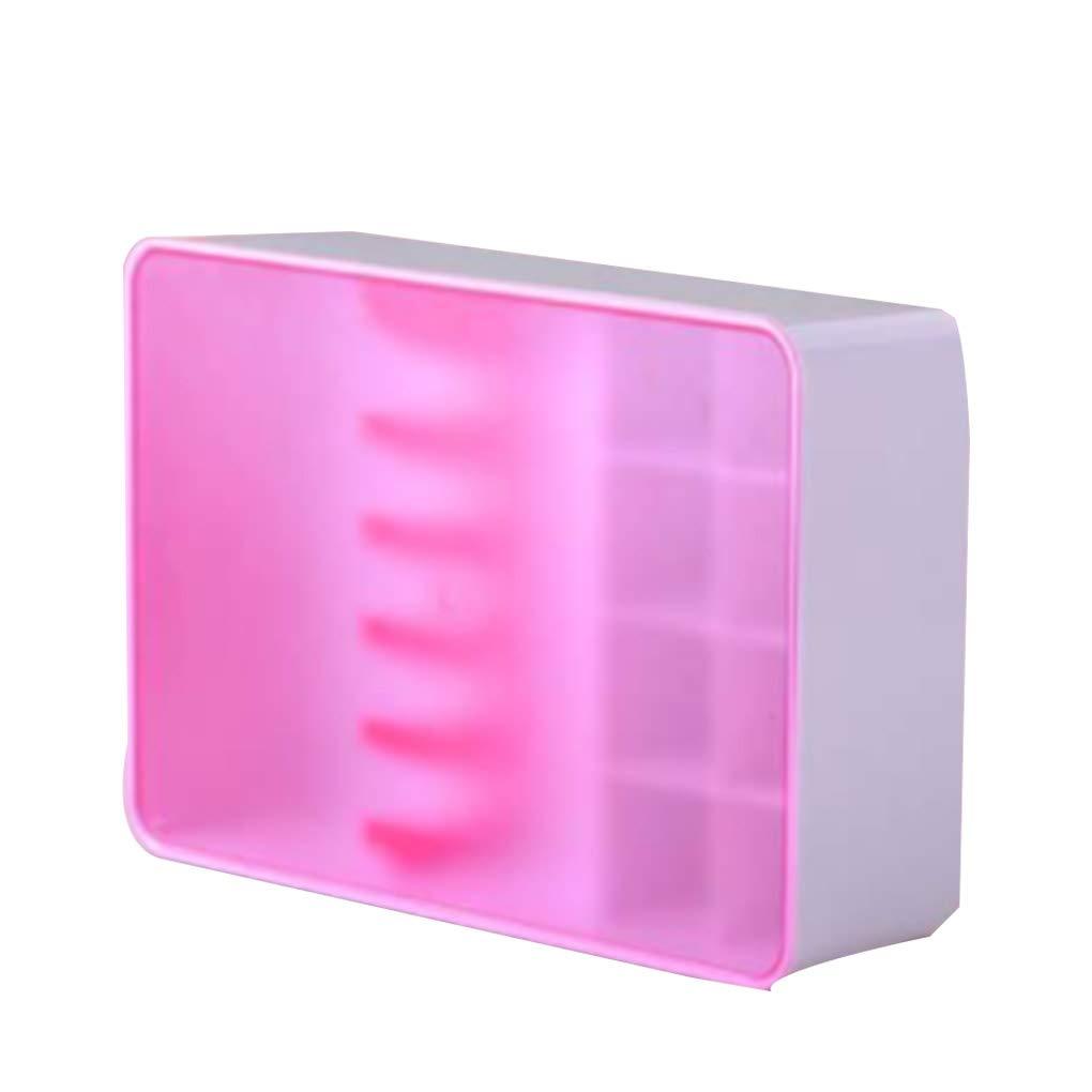 Fangfeen Armario de Ropa Interior Rosa Organizador del almacenaje de la Caja de ABS Calcetines Sujetador Lazos Ropa cajón de Ropa Interior: Amazon.es: Hogar