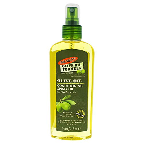 Oil Treatment Hair Extra Olive Virgin (Palmer's Olive Oil Formula Hair Conditioning Spray Oil, 5.1 oz. (Pack of 2))