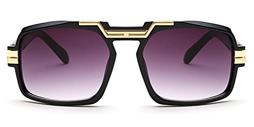 Slocyclub Mens Masculine Cool Design Rectangular Shades - Sunglasses Peoples Like Oliver