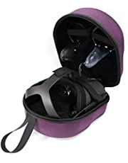 Oriolus Hard Case for Oculus Quest All-in-one VR Gaming Headset (Purple)