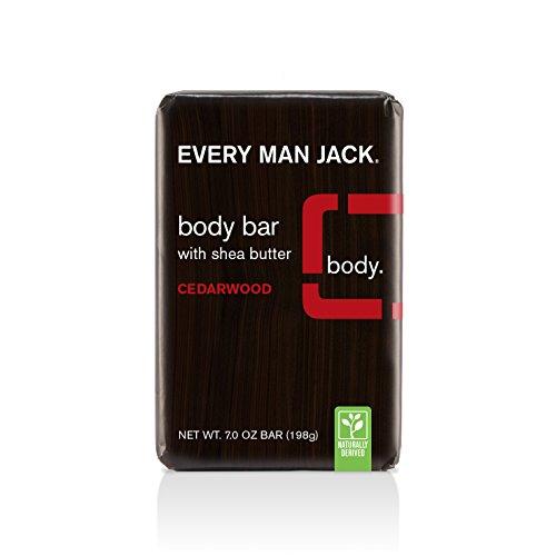Every Man Jack Body Bar, Cedarwood, 7 Ounce