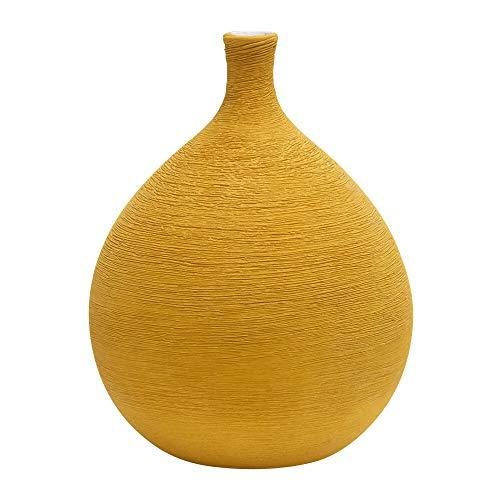 Eclante Periri Ceramic Vase Yellow Color | 8
