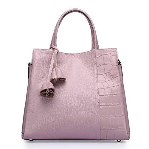 Pink Granulosa Nera Pink Pelle Igspfbjn Per Di Stile color A Donna Borsa Semplice Tracolla In Con Psoriasi xwp8az
