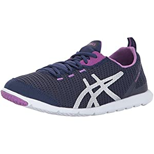 ASICS Women's Metrolyte Walking-Shoes, Indigo Blue/Orchid/Silver, 9 Medium US