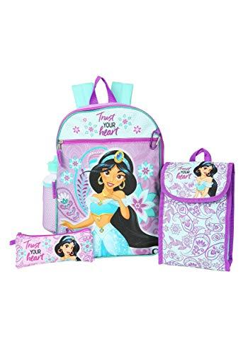 Aladdin Jasmine 5 in 1 Backpack Set Standard