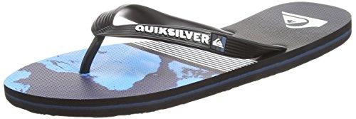 blue Molokai Chanclas Para Hombre Black Lava Quiksilver Division grey Aqyl100563 w8qdttZ