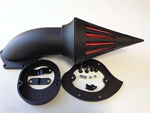 NBX- Air Cleaner Kits intake filter For Compatible with Yamaha Vstar V-Star 650 1986-2012 black