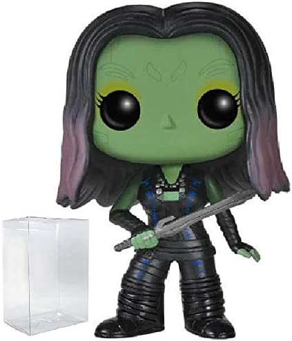 Funko Pop Marvel: Guardians of The Galaxy Gamora #51 Vinyl Figure Bundled with Pop Box Protector CASE
