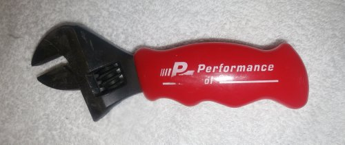 Price comparison product image Stubby Adjustment Wrench with a Red Handle