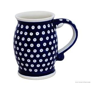 Boleslawiec Pottery Chope en céramique Motif 42 0,65l