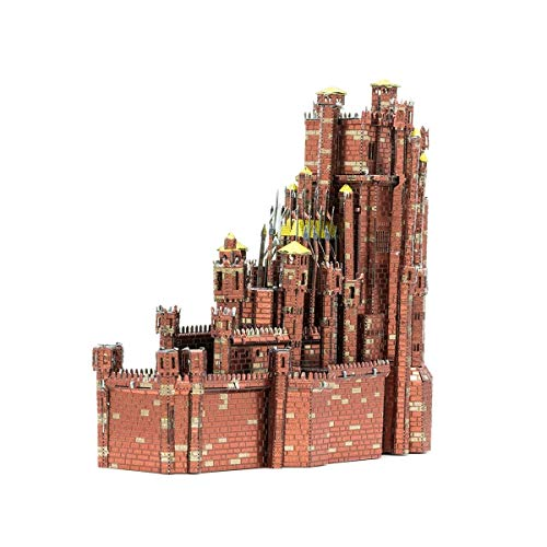 (Fascinations Metal Earth ICONX Game of Thrones Red Keep 3D Metal Model Kit)