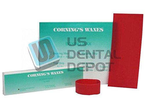 CORNING- Strip Wax Boxing 5lb - ( mfg #051 ) Size 1.5in x 12in - Reg G 106848 Us Dental Depot
