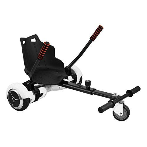 VEVOR Hover Kart Two Wheel Self Balancing Scooter Adjustable Go Kart 6.5 8 10 Hover Go Kart Hoverboards