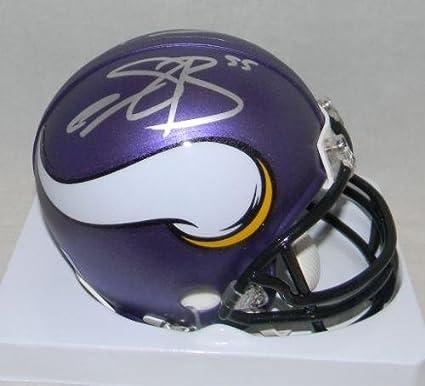 a1978d2f6 Amazon.com: Anthony Barr & Eric Kendricks Signed Autographed Minnesota  Vikings Mini Helmet - Autographed NFL Mini Helmets: Sports Collectibles