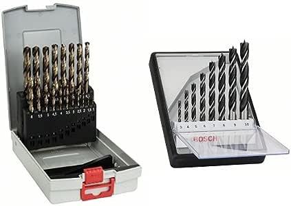 Bosch 2 608 587 014 - Juego de 19 brocas para metal ProBox HSS-Co ...
