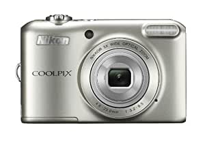 "Nikon COOLPIX L28 20.1 MP Digital Camera with 5x Zoom Lens and 3"" LCD (Silver) (OLD MODEL)"