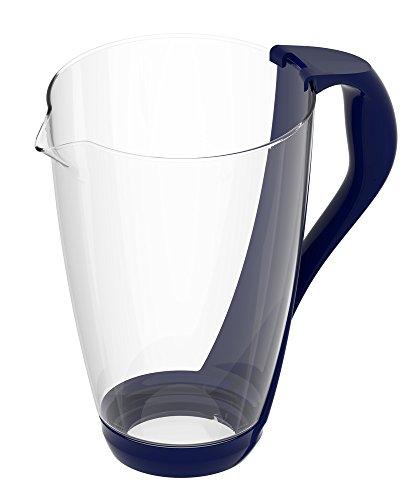 PearlCo Glas-Wasserfilter (dunkelblau)- Ersatzkanne ohne Zubehör