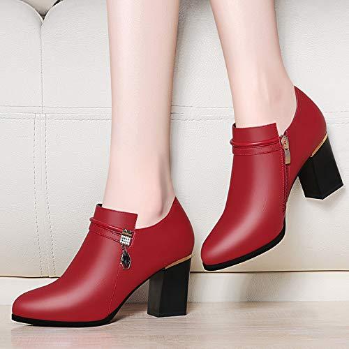 PINGXIANNV High-Heeled Schuhe Frauen Fein Mit Einer Schnalle Schnalle Schnalle Frauen Schuhe Sandalen Weiblich Wies Einzelne Schuhe Frauen Prinzessin Schuhe 5df86f