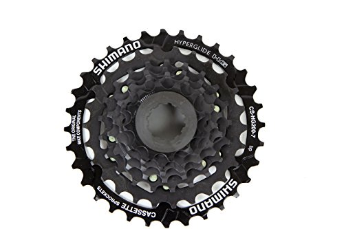 Shimano CS-HG200 12-32t Hyperglide 7 Speed Cassette by SHIMANO