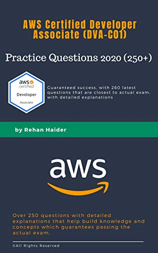 DVA-C01 Practice Questions (260+): AWS Certified