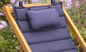 simixu Comfort–Cojín de tumbona, color azul