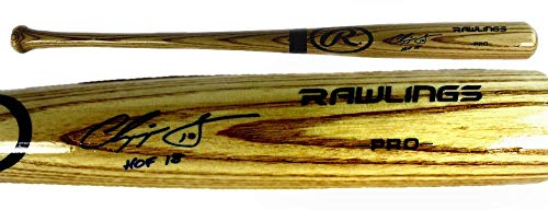 Chipper Jones Autographed Baseball Bat - Official
