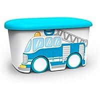 Plastiken Kids Fresh - Caja de Almacenamiento, Plástico