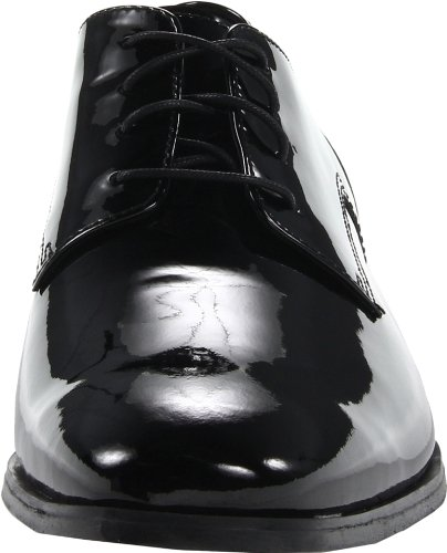 Men's Black Plain Florsheim Patent Jet aRqcndc