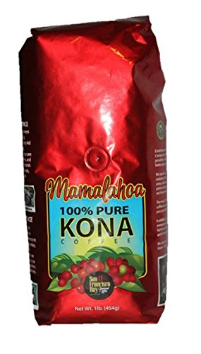 Mamalahoa 100% Pure Kona Coffee Whole Bean from Hawaii