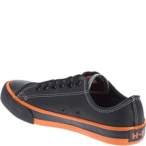 Harley Zia Scarpe davidson Black Vulcanizzata Leather xYF68qwaF
