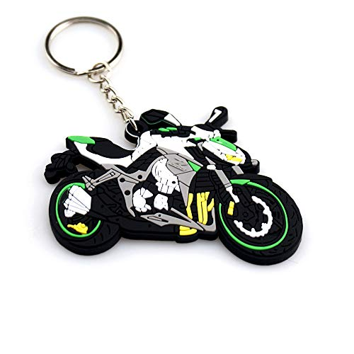 Perfect Decoration Motorcycle Bike Rubber Keychain, used for sale  Delivered anywhere in Canada