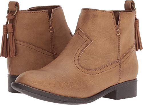 NINA Girls' Emerie Fashion Boot, Saddle, 1 Medium US Little Kid