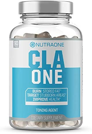 CLAOne Weight Management Supplement from NutraOne Nutrition Conjugated Linoleic Acid CLA Natural Diet Aid* 90 Capsules