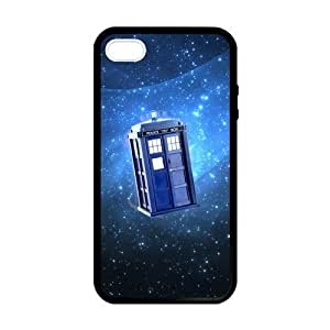 SUUER Custom Doctor Who TARDIS Skin Personalized Custom Hard CASE for iPhone 4 4s Durable Case Cover