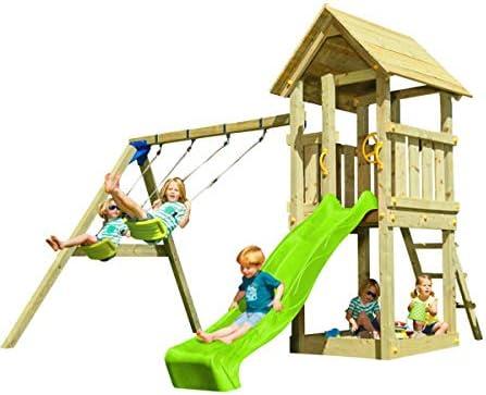 MASGAMES Parque Infantil Torre Kiosk XL con Columpio Doble