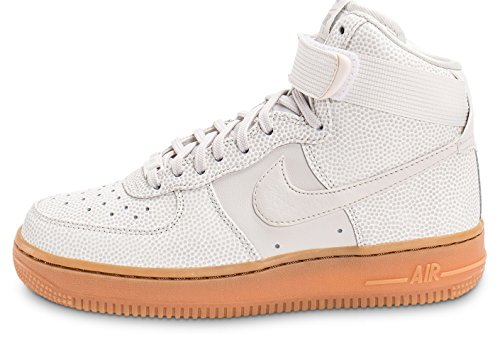 Nike Womens Air Force 1 Hi SE Hi Top Trainers 860544 Sneakers Shoes (US 8, phantom iron ore 001) (Nike Air Force One Wedge Sneakers)