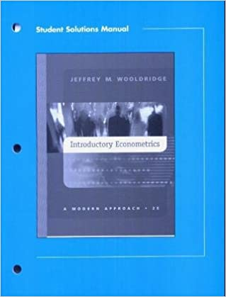 Student solutions manual to introductory econometrics 9780324149944 student solutions manual to introductory econometrics 2nd edition fandeluxe Gallery