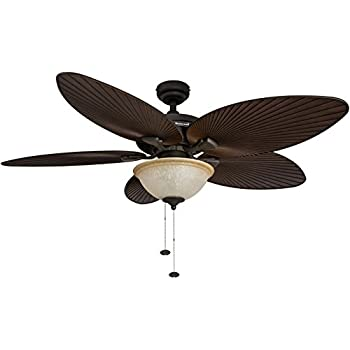 palm island inch tropical ceiling fan sunset glass bowl light five leaf blades indoor outdoor bronze fans lowes home depot australia