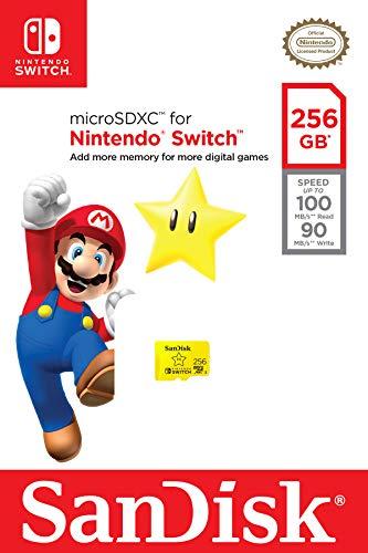 SanDisk 256GB microSDXC UHS-I-Memory-Card for Nintendo-Switch - SDSQXAO-256G-GNCZN 6