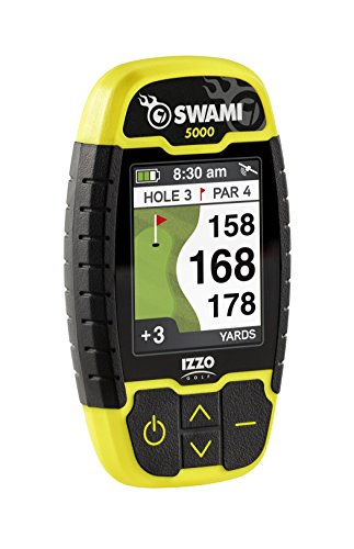 IZZO Golf Swami 5000 Golf GPS Rangefinder Golf Distance Finder