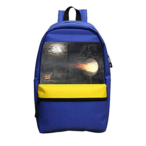 Face Wall Schoolbag Boys And Girls 1-6 Year Old Children Backpack Blue ()