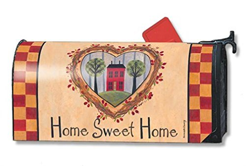 MailWraps No Place Like Home Mailbox Cover #01108 by MailWraps