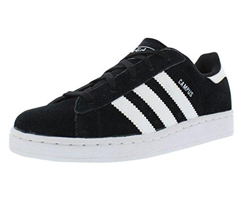 adidas Originals Campus 2 C Basketball Shoe (Little Kid), Black/White, 13.5 M US Little Kid