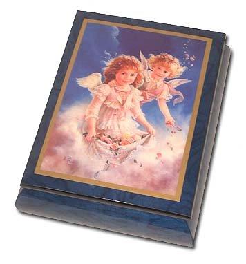 超激安 One (Mendelssohn) of a Kind (Mendelssohn) Musical Box Jewelry Box with美しい絵画の花びらLove by Brenda Burke 0-Choose Songs-0 MBB173 B00EYLG0U0 419. Wedding March (Mendelssohn) - SWISS (+$45) 419. Wedding March (Mendelssohn) - SWISS (+$45), 有田焼フッチーノ:97fabdb2 --- svecha37.ru